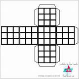 Cube Rubik Printable Template Coloring Paper Printables Own Rubiks Craft Templates P9 Theartdream sketch template