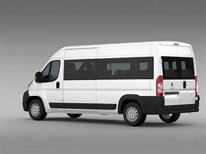 Van Peugeot : peugeot boxer window van l3h2 2006 2014 3d model flatpyramid ~ Melissatoandfro.com Idées de Décoration