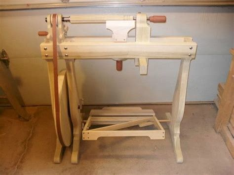 treadle lathe plans bing images wood working