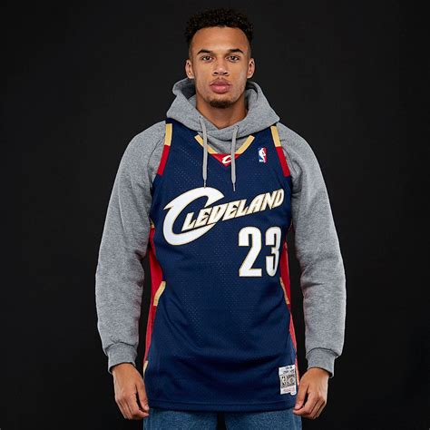 Mens Clothing - Mitchell & Ness NBA Lebron James Cleveland ...