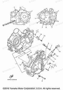 Yamaha Atv 2014 Oem Parts Diagram For Crankcase