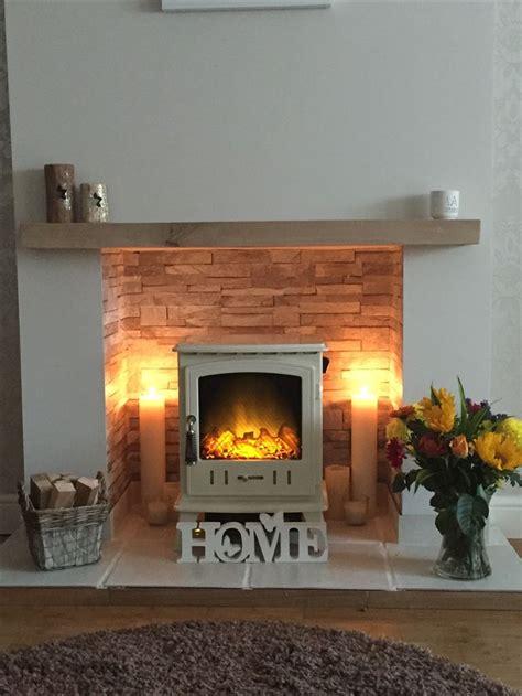 electric log burner log burner living room cosy