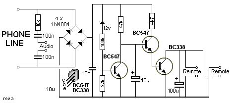Telephone Wiring Voltage by 101 200 Transistor Circuits