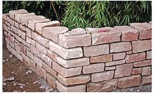 Natursteinmauer Selber Bauen : gartenbau anleitung natursteinmauer bauen und ~ Michelbontemps.com Haus und Dekorationen