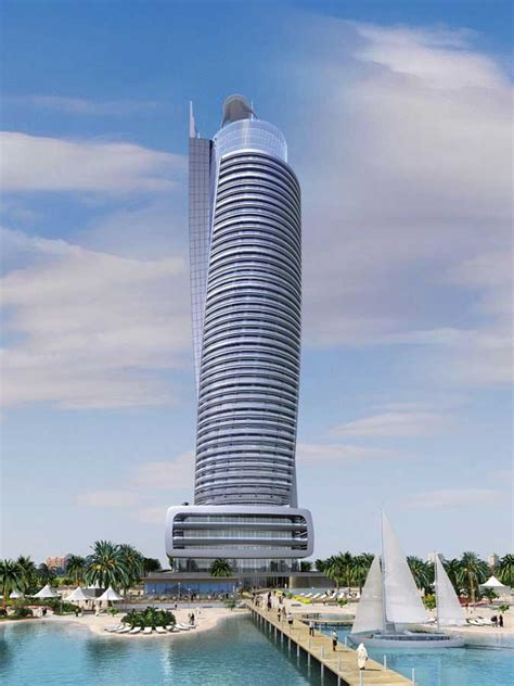 regent emirates pearl abu dhabi uae skyscraper  architect