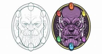 Thanos Behance Project