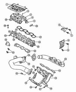 Chrysler Pacifica Actuator Package  Manifold Tuning Valve  Consists Of  Actuator  O