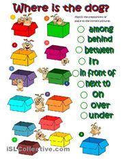 prepositions  place images prepositions