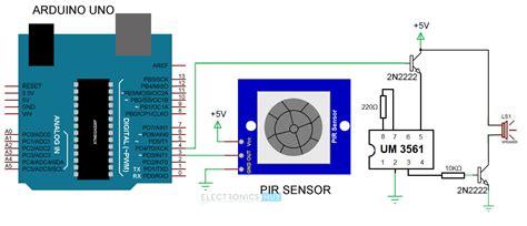 Pir Sensor Based Security Alarm System Using