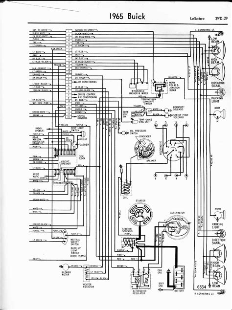 67 Buick Riviera Wiring Diagram Schematic by Buick Wiring Diagrams 1957 1965