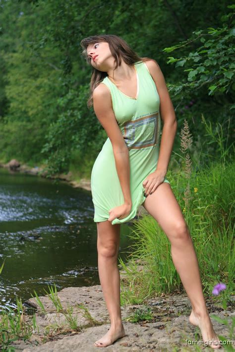 Sandra Only Teen Model Waterfall Sex Archive