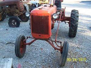 Ac Allis Chalmers C Tractor  With Wide Front End And 3