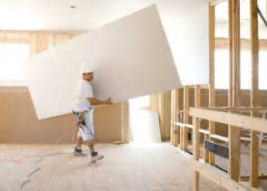 Hanging Drywall On Ceiling Tips by Ultralight Sheetrock Drywall Panels From Usg