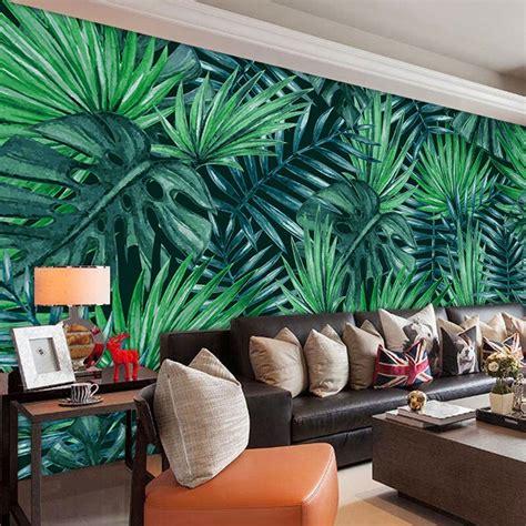 beibehang personalized modern minimalist green foliage