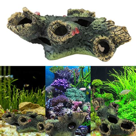 tropical fish tank decorations driftwood aquarium ornament free shipping worldwide