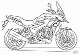 Coloring Pages Motor Bikes Bike Dirt Printable sketch template