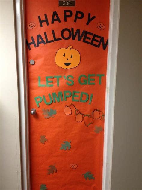 dorm room door  decorated  halloween  creations halloween dorm dorm room doors