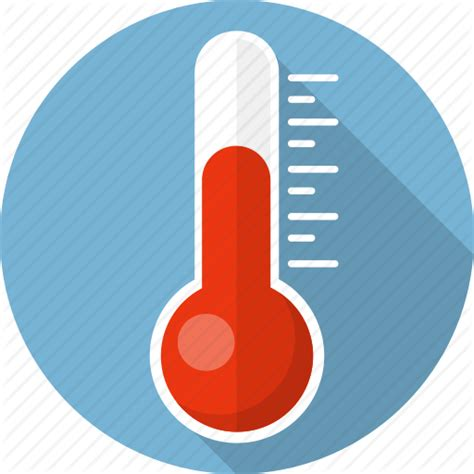 what does a thermometer icon in the weather channel celsius health laboratory meteo temperature