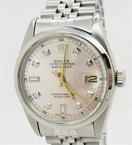Rolex Uhr Herren Gold : rolex datejust herren uhr mit diamanten schnellschaltung ebay ~ Frokenaadalensverden.com Haus und Dekorationen