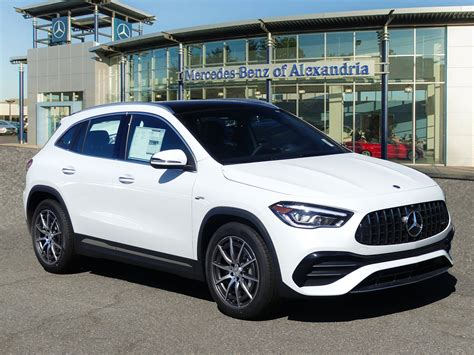 Our car experts choose every product we feature. New 2021 Mercedes-Benz GLA AMG® GLA 35 SUV SUV in Alexandria #MJ168836 | Mercedes-Benz of Alexandria