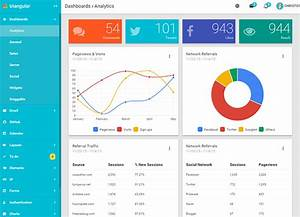 Angular Charts Top 25 Angularjs Admin Design Templates Web Graphic
