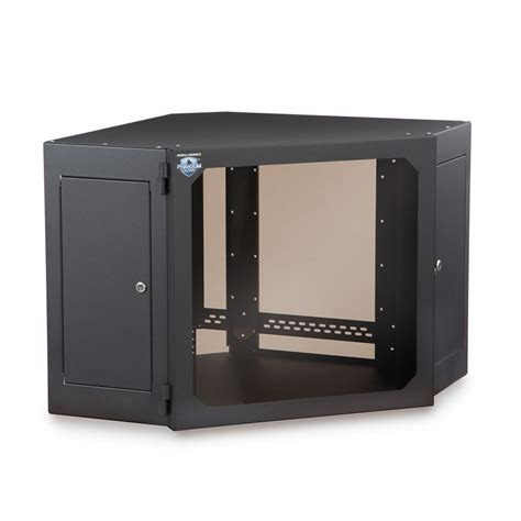wall mounted corner cabinet kendall howard 1915 3 700 12 12u corner wallmount server
