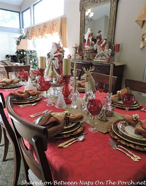 christmas table setting lenox holiday tartan beautiful