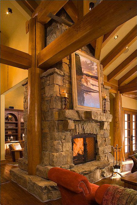 houses with fireplaces timber frame fireplace for the home timber frame homes