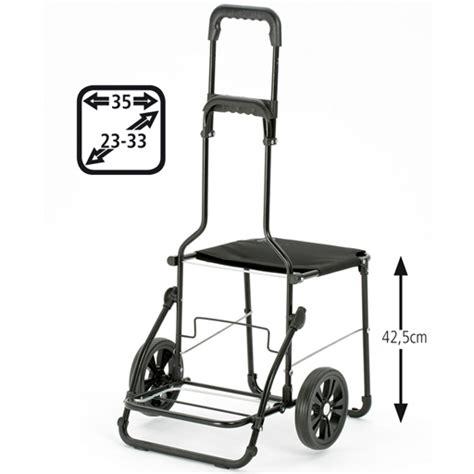siege de course caddie chariot de courses sac noir 49 litres isotherme
