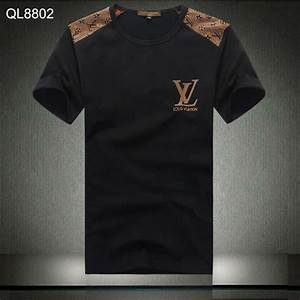 T Shirt Louis Vuitton Homme : tee shirt louis vuitton hommes pas cher cotton lv paris ~ Melissatoandfro.com Idées de Décoration