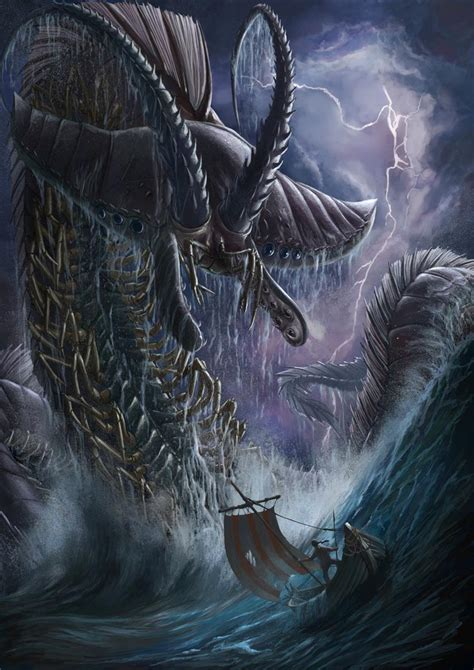maciej kuciara 69 godlike monster art images digitalart io