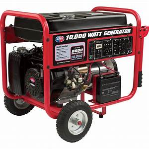 Product  All Power Portable Generator  U2014 10 000 Watt
