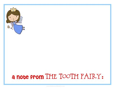 Free Printable Tooth Letter Template by A Note From The Tooth 8x10 Jpeg Jpg