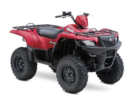 Suzuki Kingquad by 2013 Suzuki Kingquad 500axi 30th Anniversary Edition Top
