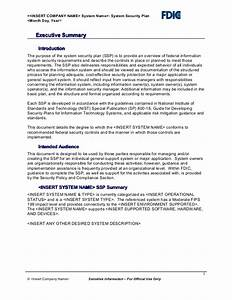 sample security plan template pictures to pin on pinterest With system security plan template