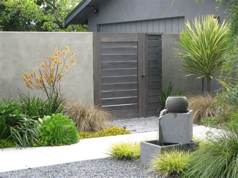 fence gate ideas landscape contemporary with low water low