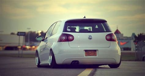 slammed volkswagen golf slammed vw golf vw pinterest
