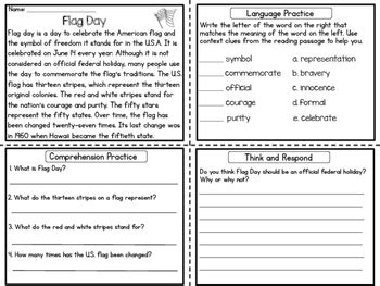 reading comprehension passages upper elementary summer tpt