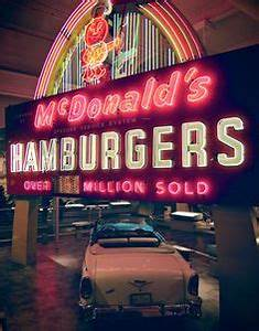 McDonald s Restaurant Original 1968 Vintage Ad