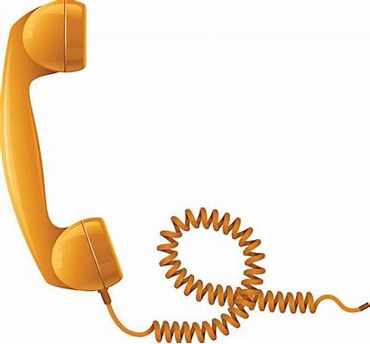 Receiver Telephone Vector Illustrations Clip Phone Clipart