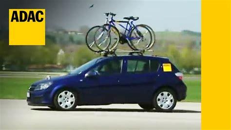 fahrradtraeger im test adac youtube