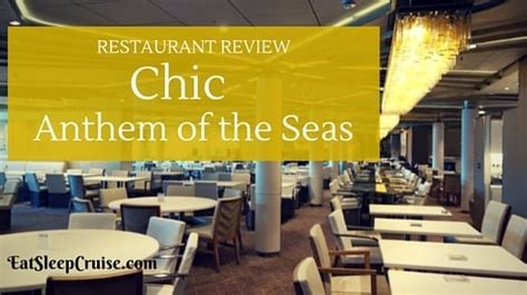 Photo Review Chic Anthem Of The Seas