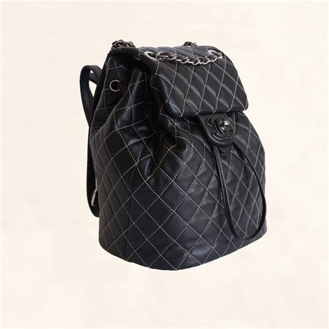 chanel quilted backpack chanel lambskin quilted stiched backpack small the