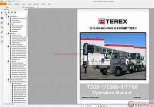 Terex Crane T340