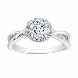 Round cushion cut engagement rings wedding promise for Cushion cut engagement rings with wedding band