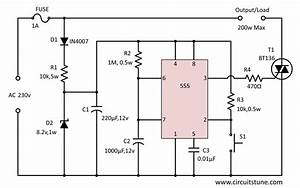 Automatic Power Off Circuit Diagram