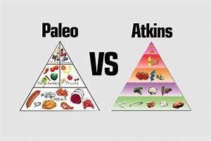 Chart  Paleo Vs Atkins Food Pyramid