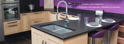 cuisine et bain chez mon marbrier plan de travail cuisine et bain en granit