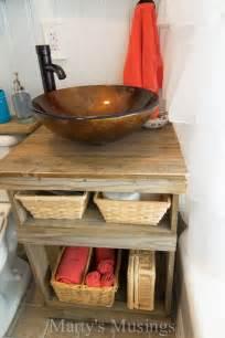 white vanity bathroom ideas repurposed wood projects