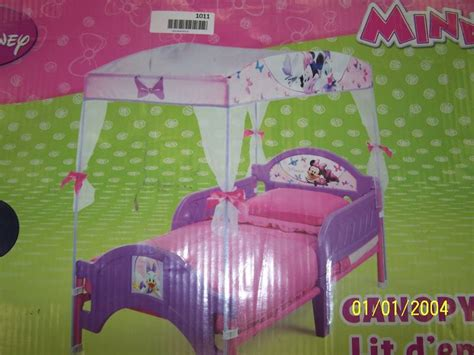 Minnie Mouse Canopy Toddler Bed by Minnie Mouse Bow Tique Canopy Toddler Bed After